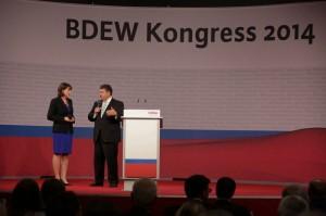 Hildegard Müller, BDEW; Sigmar Gabriel, Bundesminister für Wirtschaft und Energie; Copyright Gerhard Kassner
